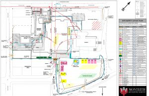 Site Safety Layout Plan