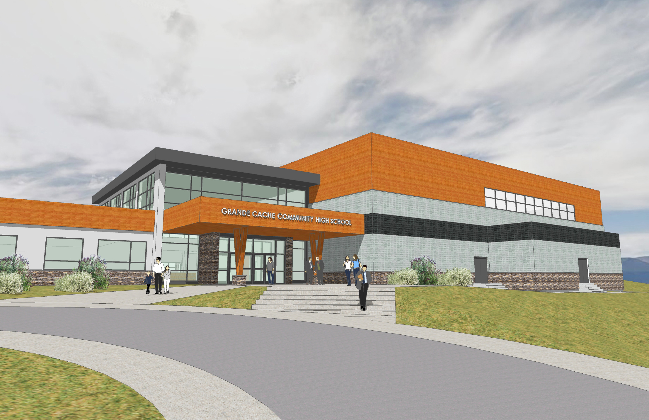 GRANDE CACHE HIGH SCHOOL MODERNIZATION